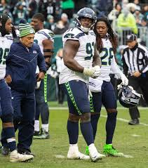 Seahawks defensive tackle Jarran Reed leaves game vs. Eagles with sprained  ankle | The Seattle Times