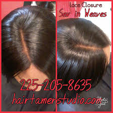 sew in weaves hair extensions salon at