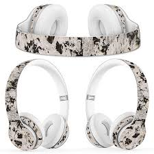 Universal Vinyl Decal Over Ear Headsets Accessories Protective Wrap Cover Sticker For Solo 2 0 3 0 Wired Headphone For Solo2 3 Earphone Accessories Aliexpress