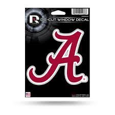 Alabama Crimson Tide Die Cut Vinyl Decal Walmart Com Walmart Com