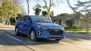 lease a hyundai ioniq electric car