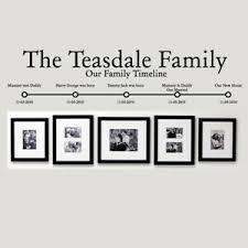 Family Is Quote Wall Art Vinyl Sticker Lounge Hallway Room Photo Frame Surround Ebay