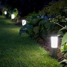 mini london solar post lights set of 4