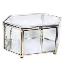 vintage mirrored accessory box
