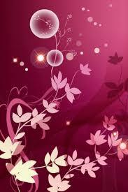 pink flower abstaract iphone hd