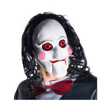mask with hair halloween costume