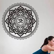 Yoga Club Wall Sticker Decal Lotus Body Building Posters Vinyl Wall Decals Home Decoration Decor Mural Yoga Sticker Akolzol Com