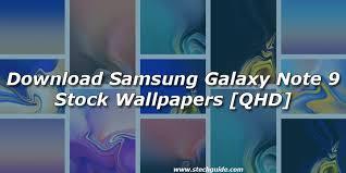 samsung galaxy note 9 stock