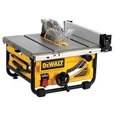 Dewalt Dwe7480 Table Saw Review Tools First