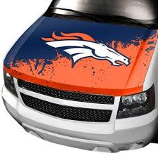 Denver Broncos Hood Cover Denver Broncos Nfl Car Nfl Denver Broncos