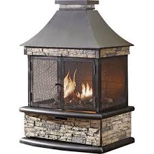 shinerich propane outdoor fireplace