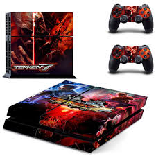 Click To Buy New Design For Tekken 7 Ps4 Skin Sticker Decal Cover For Sony Ps4 Playstation 4 Console And 2 Co Ps4 Skins Decals Ps4 Skins Stickers Console
