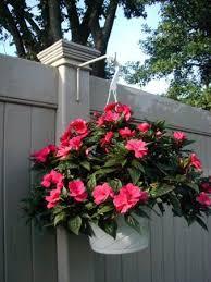 Amazon Com Vinyl Fence Plant Accessory Post Hanger White 6 5 Inch Extension Patio Lawn Garden Fence Plants Vinyl Fence Backyard Fences