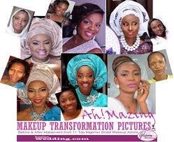 bridal makeup transformation