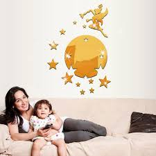 Fairy Sprinkle Stars Tv Wall Stickers Home Accessories Fashion Can Be Removed Mirror Wall Stickers Children Room Wall Sticker Adhesive Wall Stickers Affordable Wall Decals From Wwdh1234 8 79 Dhgate Com