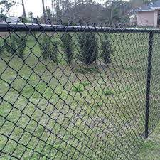5 Foot Chain Link Fence Black Di 2020