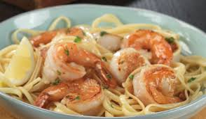 Shrimp & Scallop Scampi