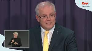 PM Scott Morrison Australia Coronavirus ...