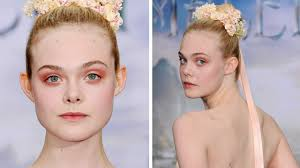 makeup tutorial elle fanning