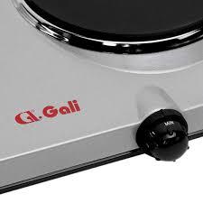 Bếp Điện Đôi Gali GL-2003 (1500W) – Xám