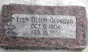 Lola Davada Olson (1904 - 1961) - Genealogy