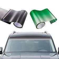 Mega Deal B1b2c4 150 20cm Car Window Sun Visor Strip Tint Film Front Windshield Uv Shade Diy Decal Banner Car Exterior Sticker Cicig Co