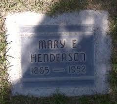 Mary Effie Musick Henderson (1865-1952) - Find A Grave Memorial