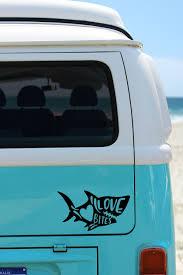 Shark Decal Any Color Shark Love Bites Decal Valentine Day Decal Sticker Shark Mug Decal Shark Car Decal Phone Decals Phone Decal Stickers Car Decals Vinyl
