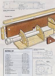 Router Table Fence Plans Woodarchivist