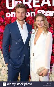 February 23rd, 2018. Sydney, Australia. Kassandra Clementi and Adam Stock  Photo - Alamy