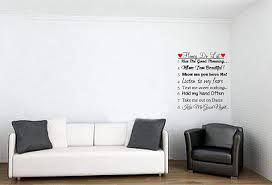 Amazon Com Walls With Style Honey Do List Marriage Decal Vinyl Wall Sticker Black Red Hearts Black With Red Hearts Home Kitchen