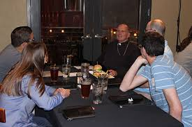 Bishop tackles faith issues, answers young adults' questions during  Theology on Tap - Trenton Monitor | Online News Site of the Diocese of  Trenton, N.J.