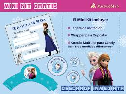 Frozen Invitaciones Y Candy Bar Para Descargar E Imprimir Mundo