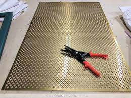 how to add wire mesh grille inserts to
