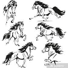 Fotobehang Ijslandse Paarden Pixers We Leven Om Te Veranderen