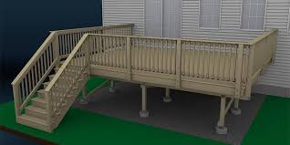 How To Build A Deck Wood Decking And Railings