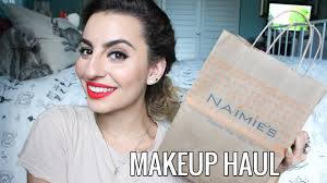 naimie s makeup haul you
