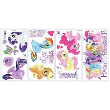 Roommates My Little Pony The Movie Wall Decal