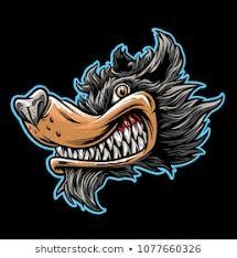 vectores imagenes y arte vectorial de stock sobre wolf biker