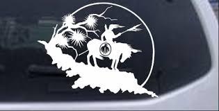 Native American Indian Horse Desert Scene Car Truck Window Laptop Decal Sticker Ebay