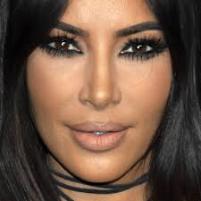 kim kardashian s makeup photos