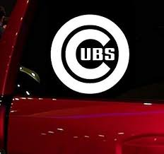 Amazon Com Wall Banners Llc Cubs Vinyl Sticker Decal For Vehicle Cars Trucks Vans Suv Window Windshield Folder W Window Stickers Cars Trucks Window Vinyl