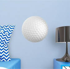 Golf Ball Wall Decal Removable Sports Wall Sticker For Boys Bedroom Golfer Decor Ebay