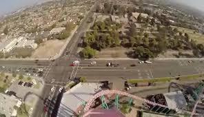 xcelerator roller coaster pov knott s