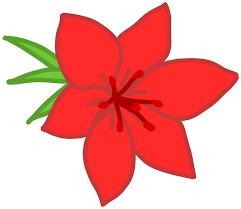 red flower 98283 free svg