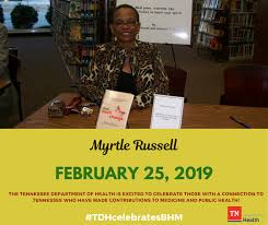 Black History Month (Feb. 25): Myrtle... - Tennessee Department of Health    Facebook