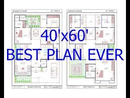 40x60 house plan east facing 2