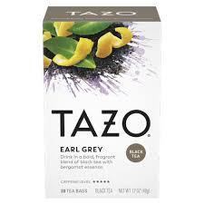earl grey tazo tea