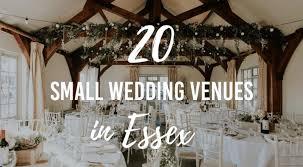 20 small wedding venues in es