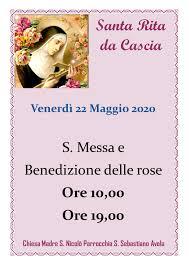 Festa di Santa Rita da Cascia 22 Maggio 2020 - Parrocchia San ...